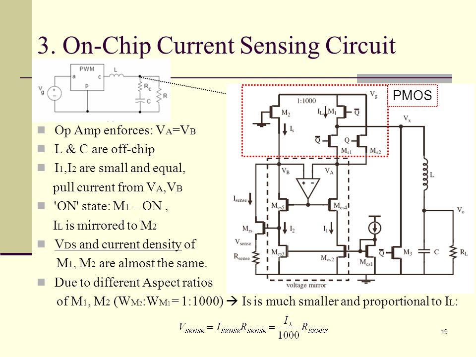 3. On-Chip Current Sensing Circuit