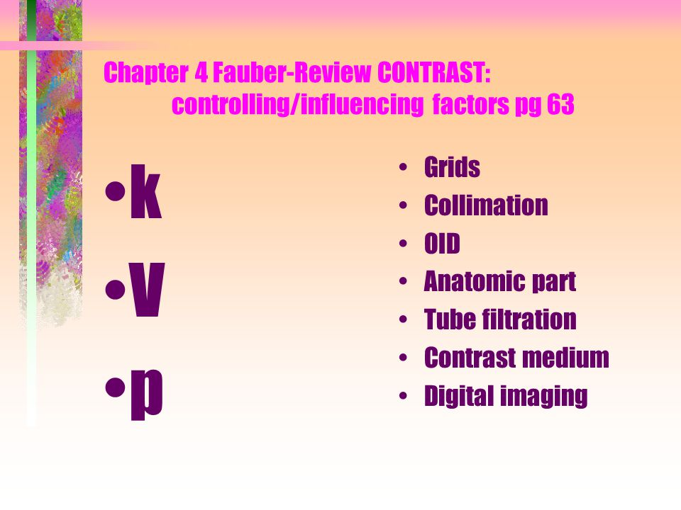 Chapter 4 Fauber-Review CONTRAST: