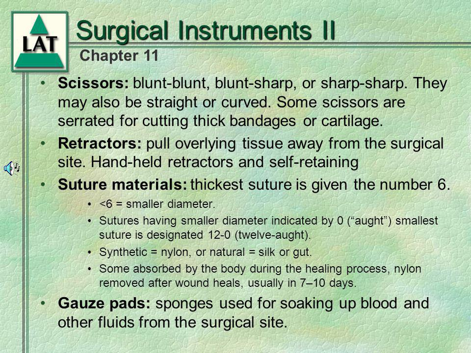Surgical Instruments II