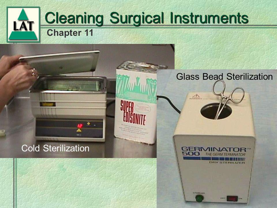 Cleaning Surgical Instruments