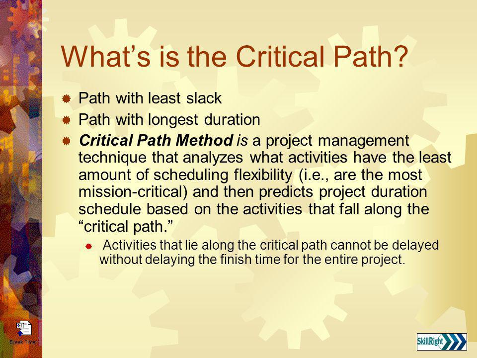 What's is the Critical Path