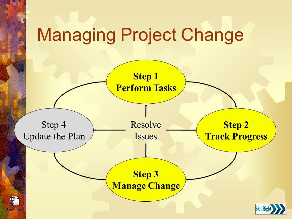 Managing Project Change