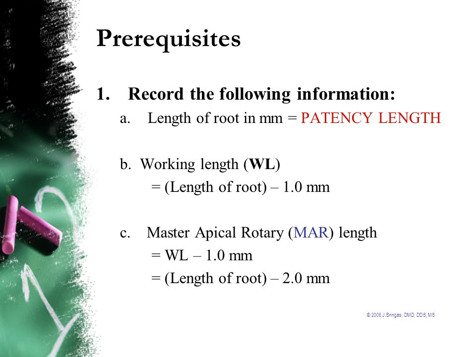 Prerequisites 1. Record the following information: