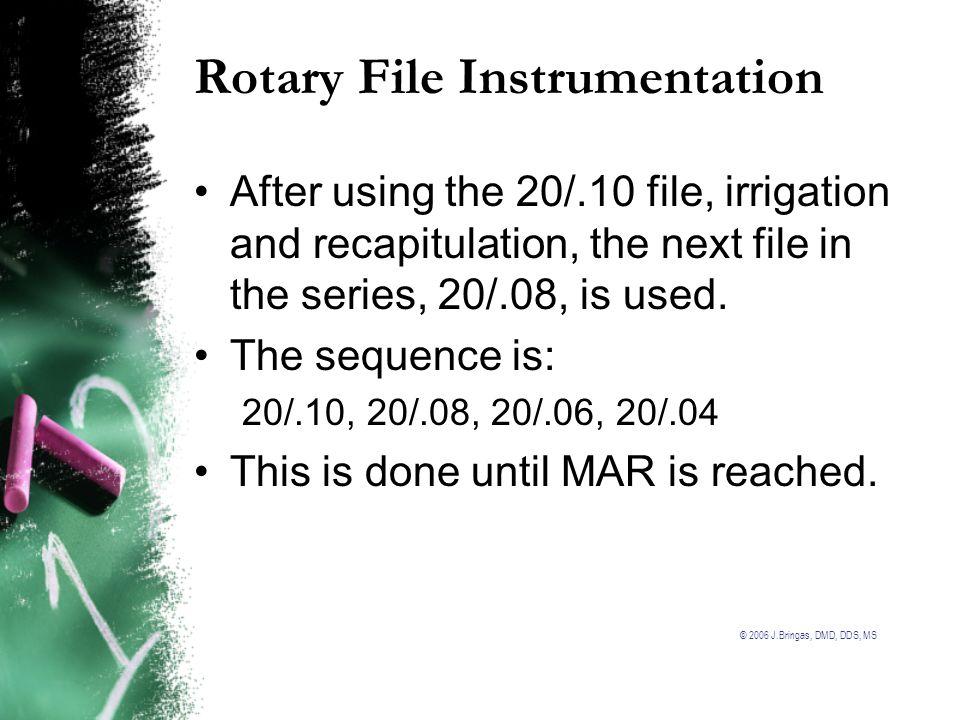 Rotary File Instrumentation