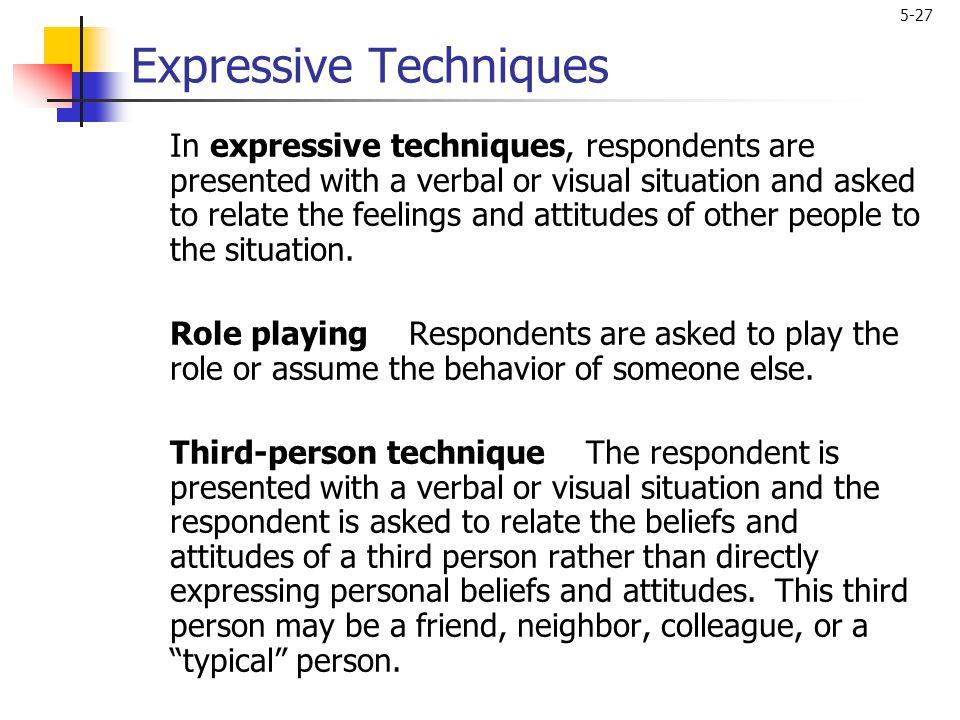 Expressive Techniques
