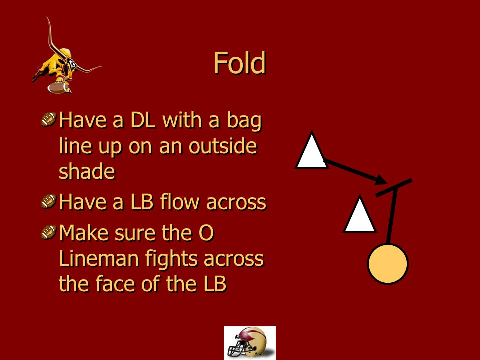 Fold Have a DL with a bag line up on an outside shade