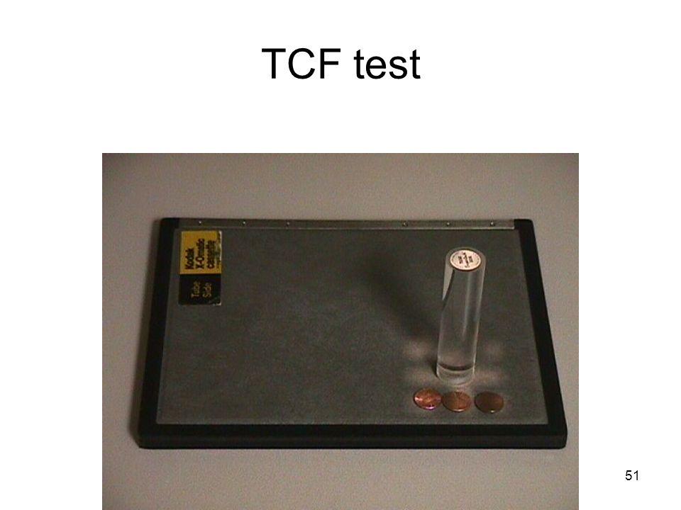 TCF test