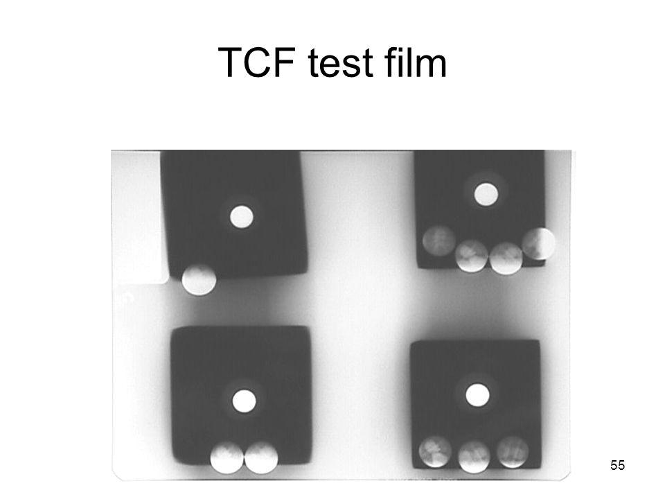 TCF test film