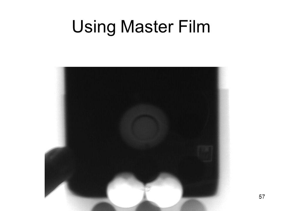 Using Master Film