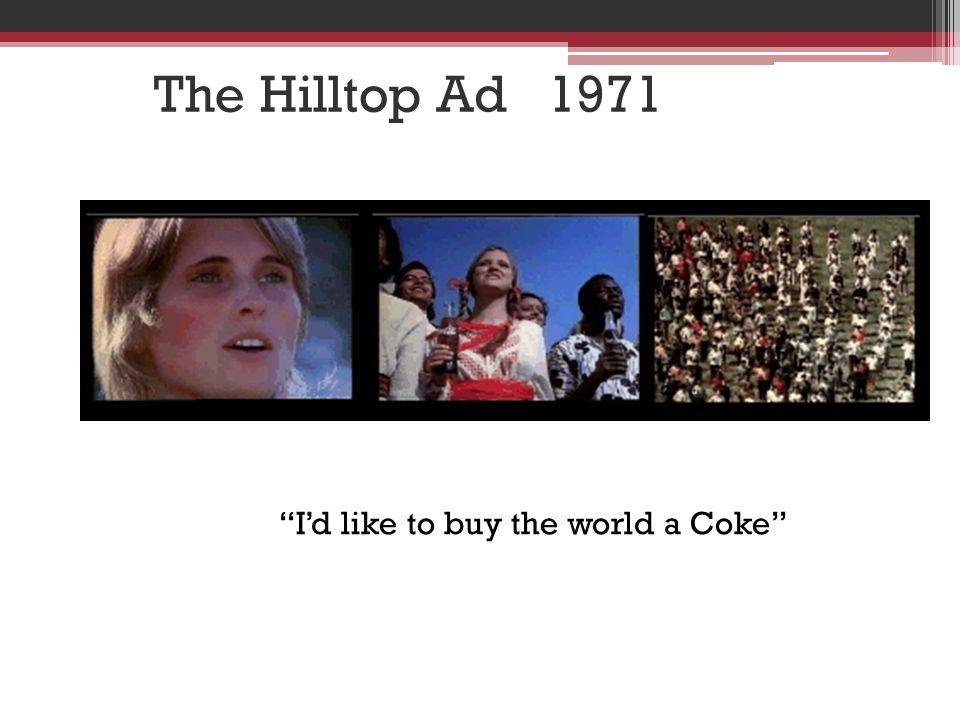 I'd like to buy the world a Coke