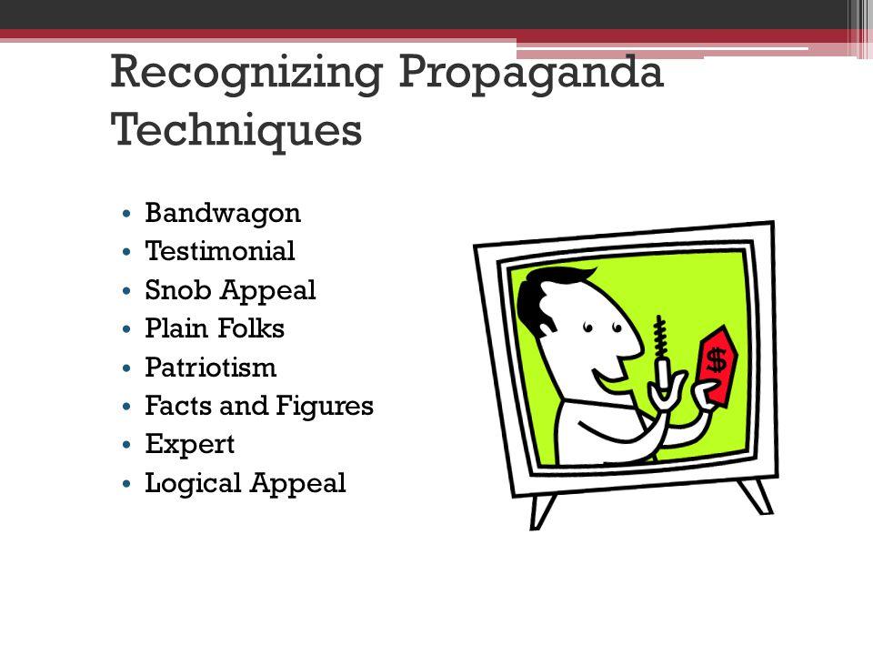 Recognizing Propaganda Techniques