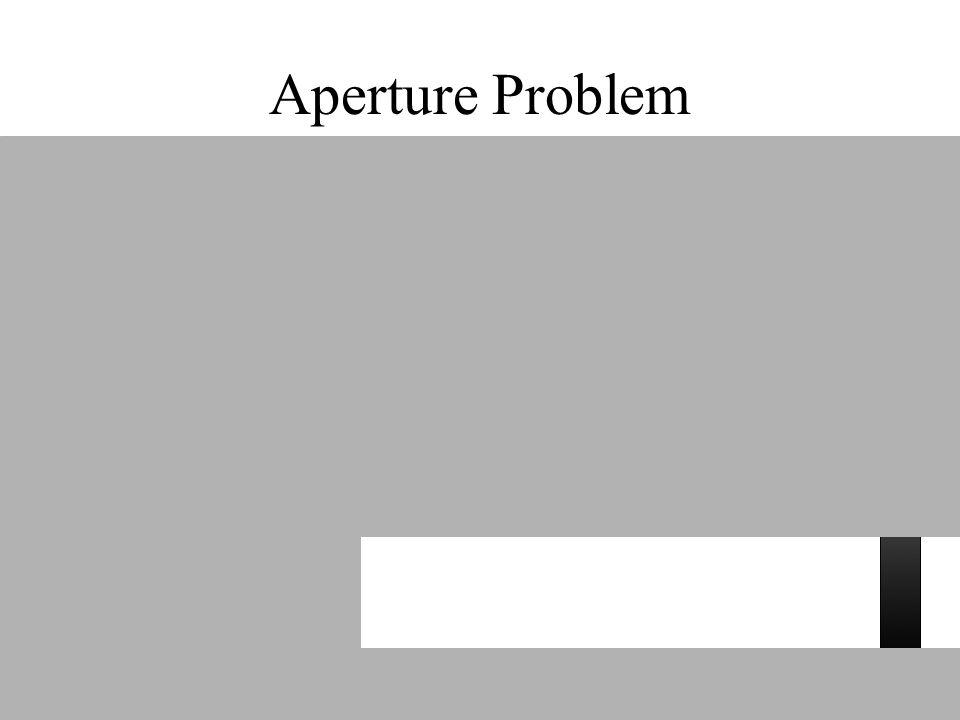 Aperture Problem