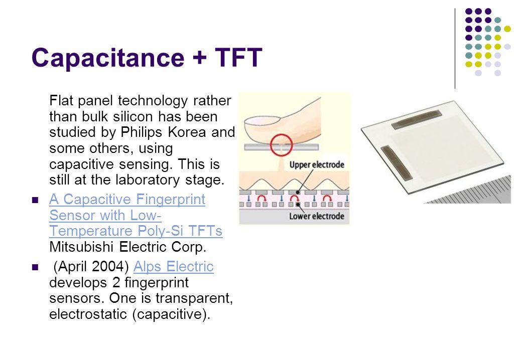 Capacitance + TFT