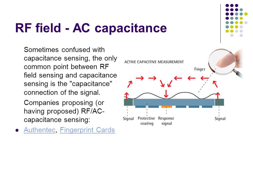 RF field - AC capacitance