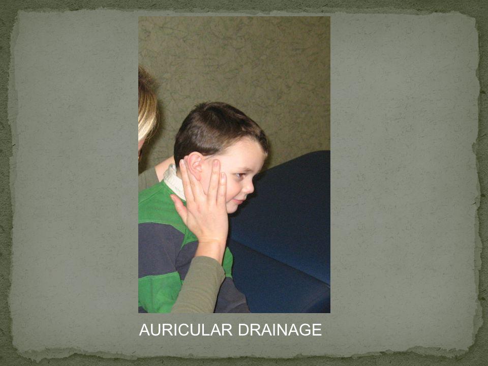 AURICULAR DRAINAGE