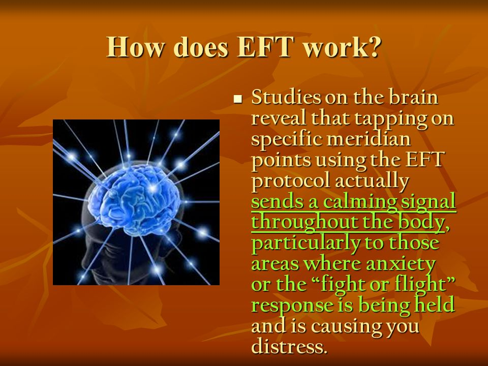 How does EFT work