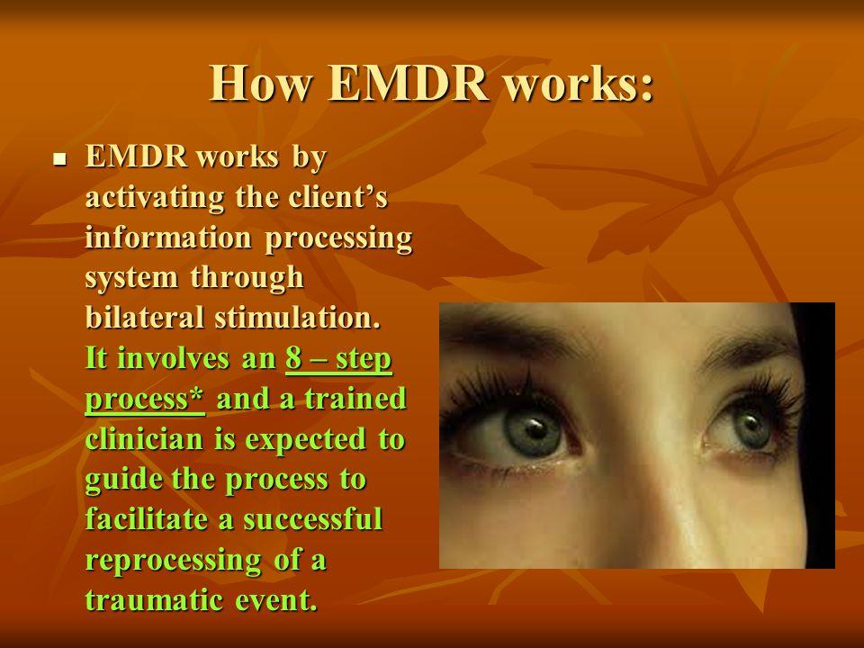 How EMDR works: