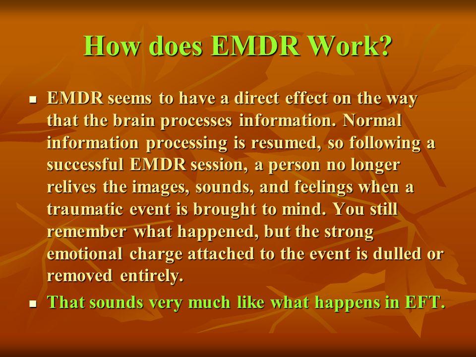 How does EMDR Work