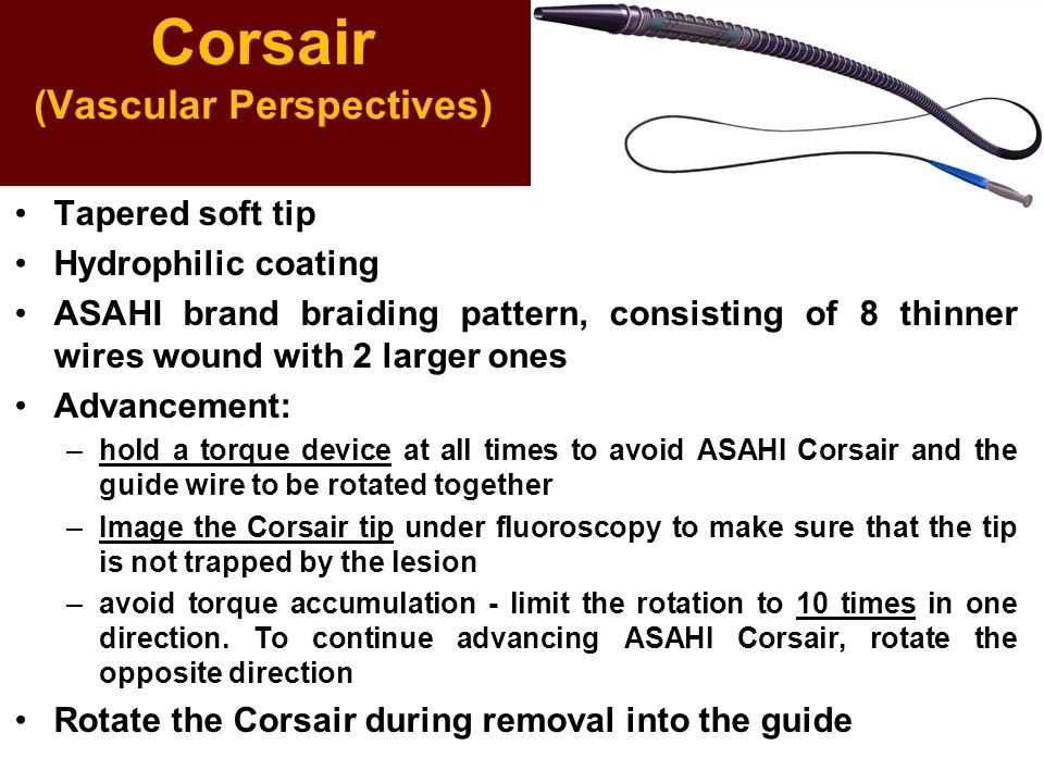 Corsair (Vascular Perspectives)