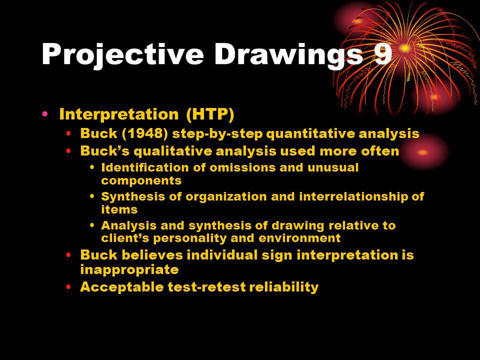Projective Drawings 9 Interpretation (HTP)