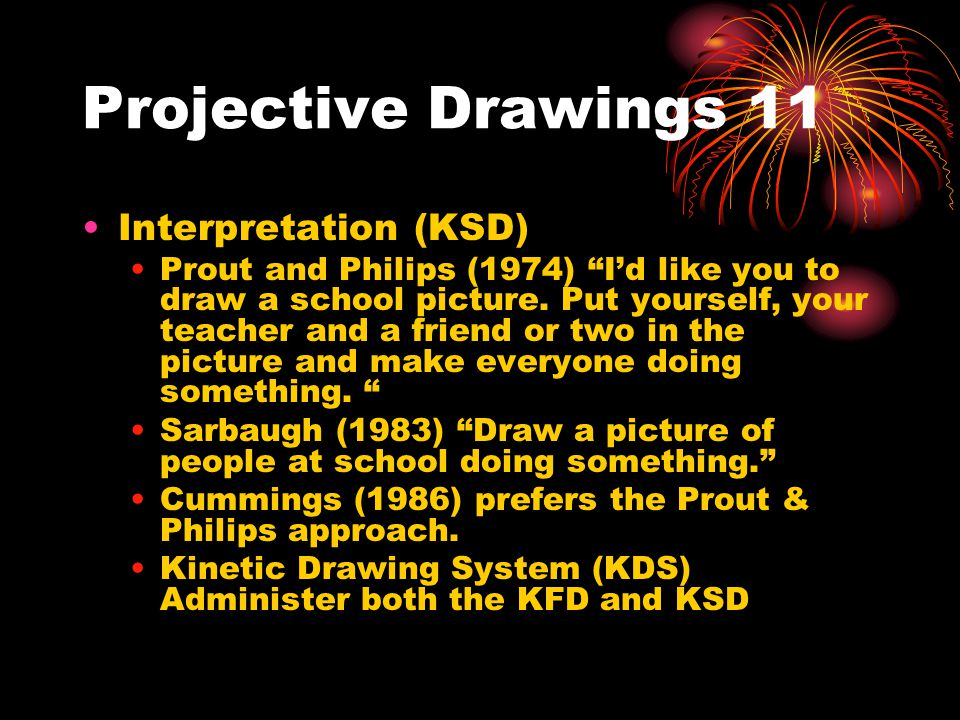 Projective Drawings 11 Interpretation (KSD)