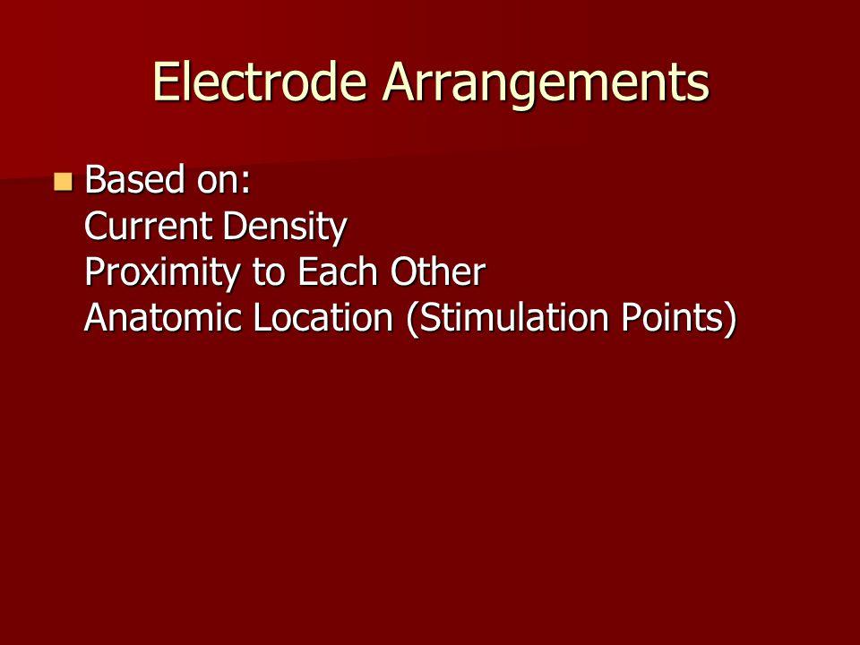 Electrode Arrangements