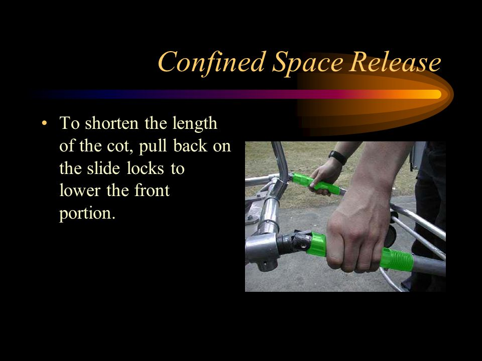 Confined Space Release