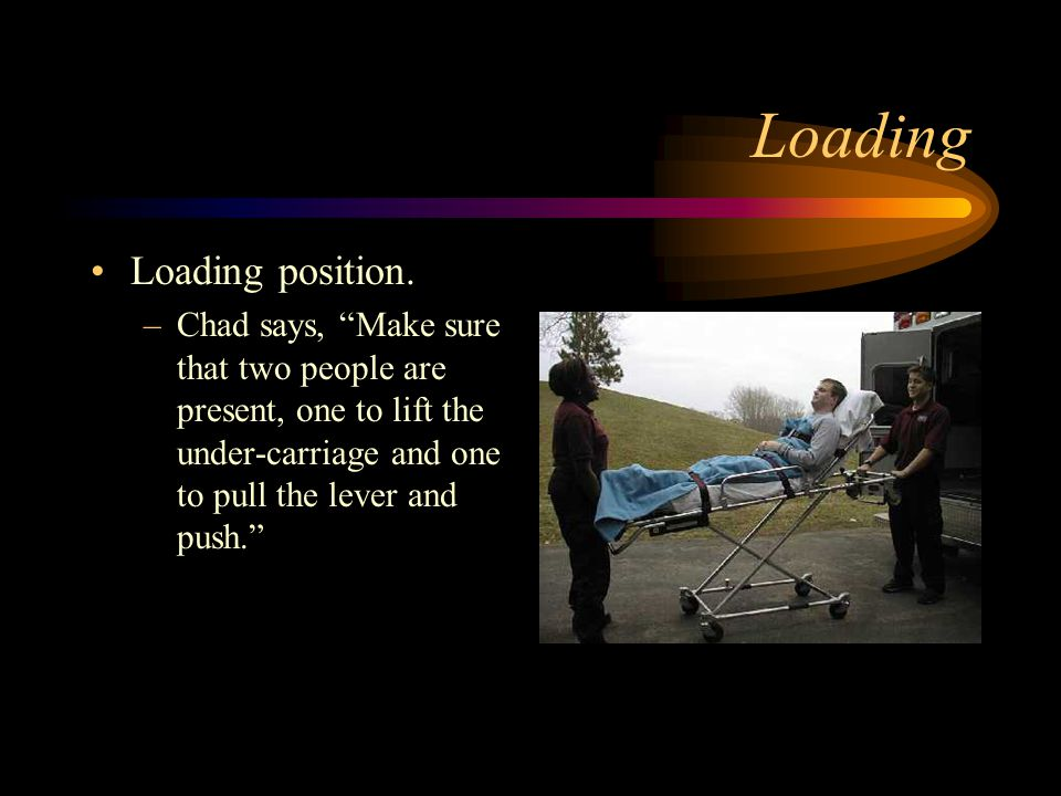 Loading Loading position.
