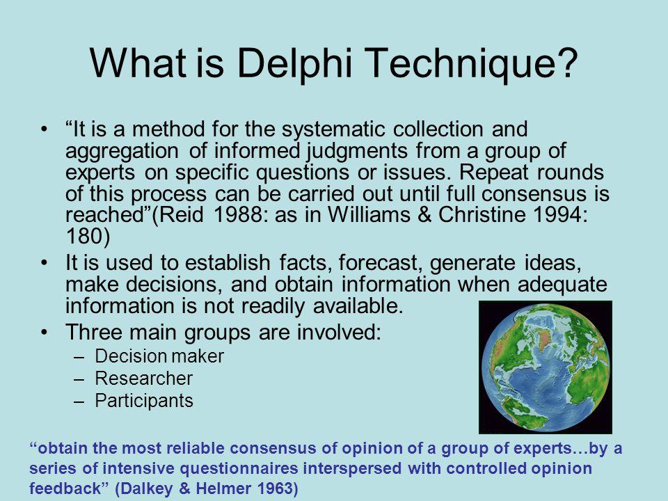 What is Delphi Technique
