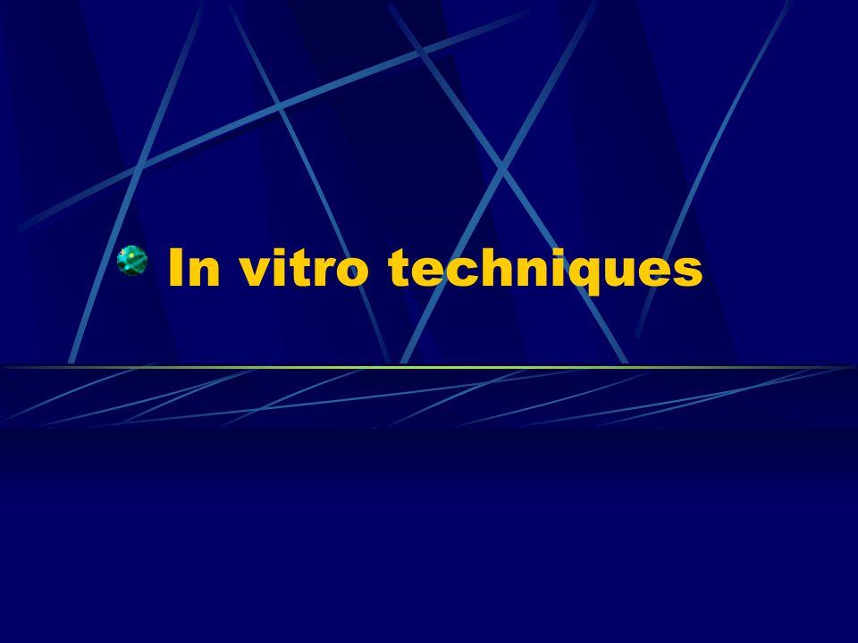 In vitro techniques