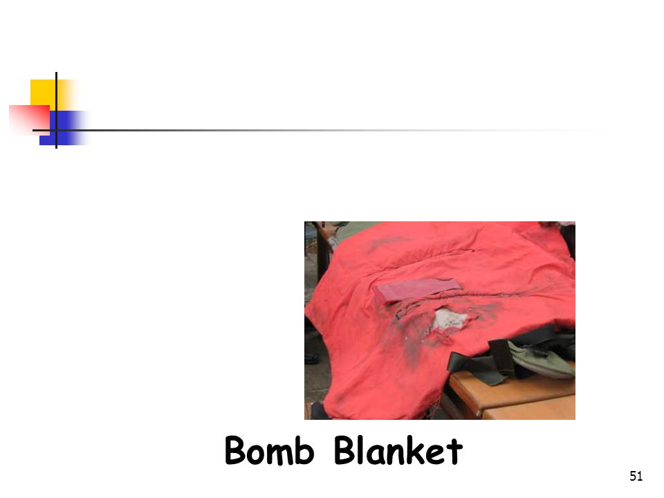 Bomb Disposal Gears Bomb Blanket