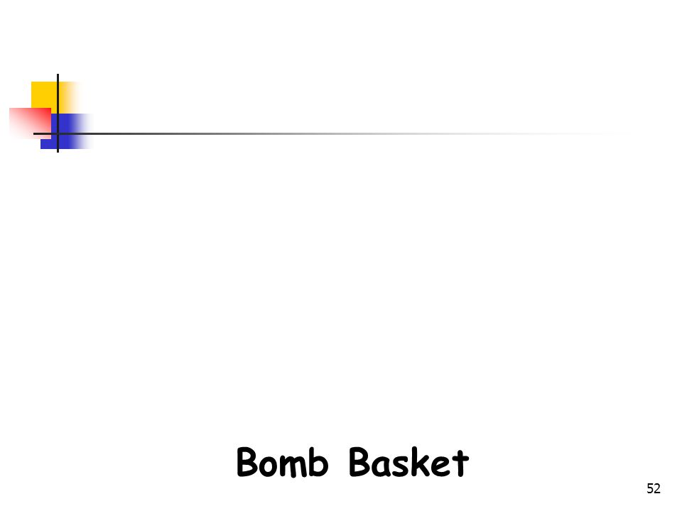 Bomb Disposal Gears Bomb Basket