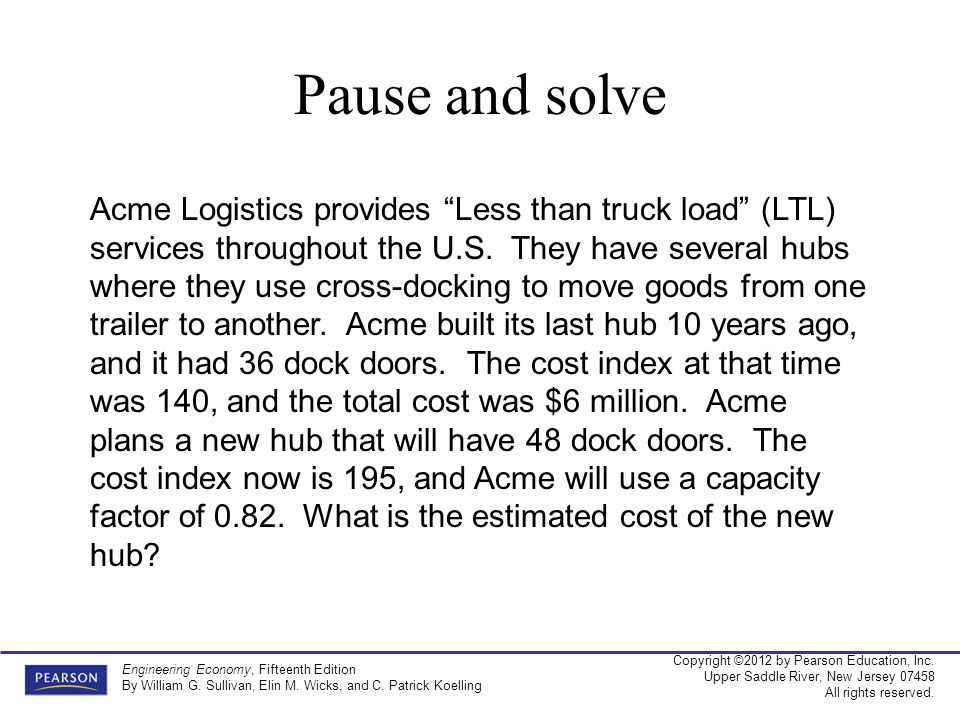 Pause and solve