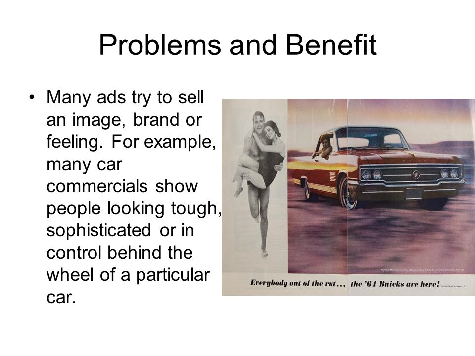 Problems and Benefit