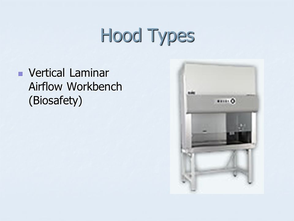 Hood Types Vertical Laminar Airflow Workbench (Biosafety)