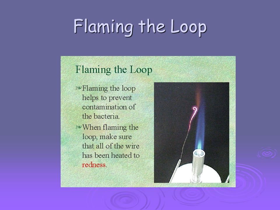 Flaming the Loop