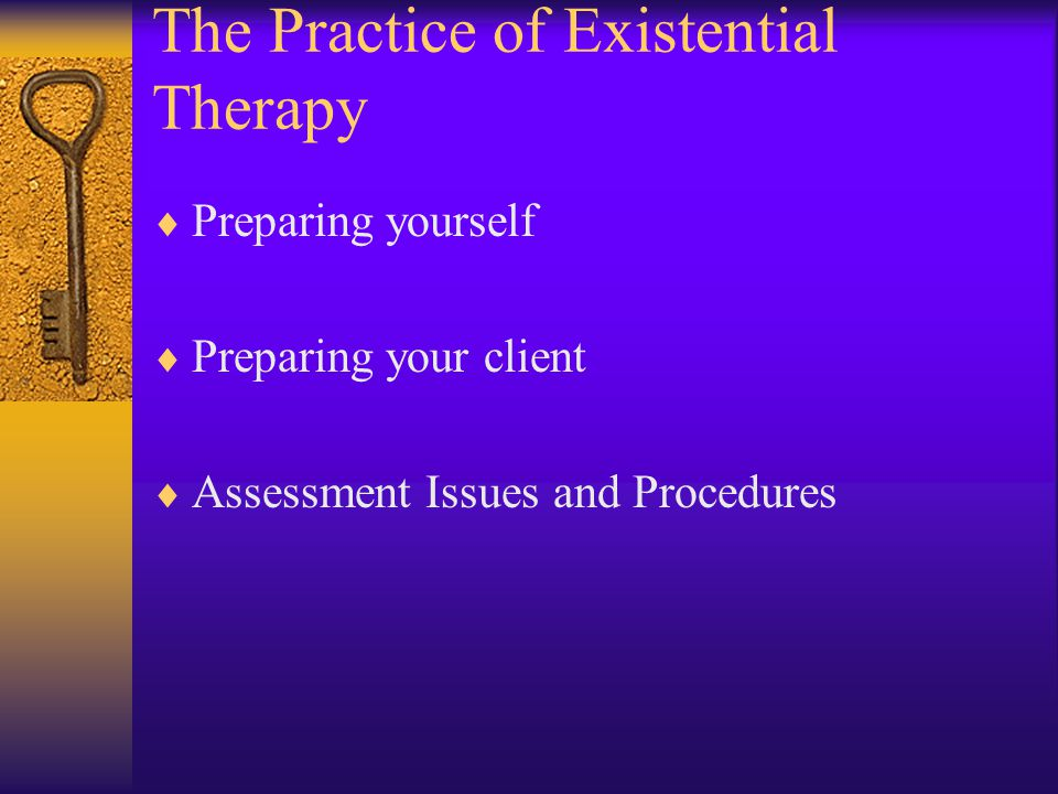 The Practice of Existential Therapy