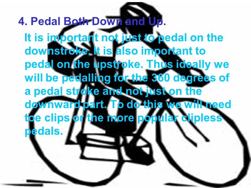 4. Pedal Both Down and Up.
