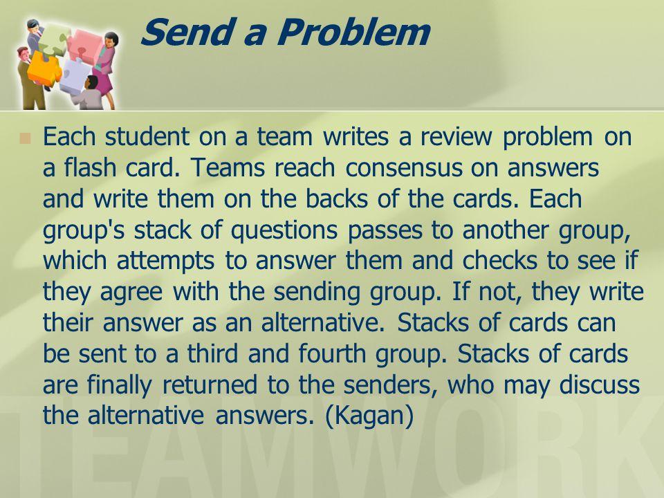 Send a Problem
