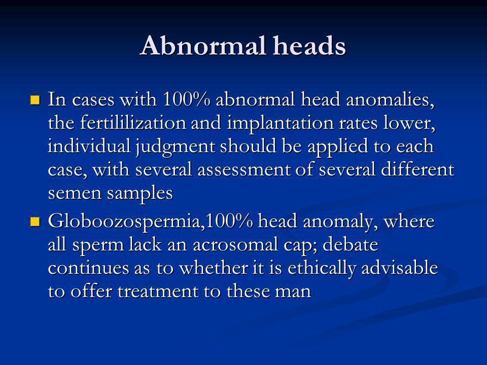 Abnormal heads