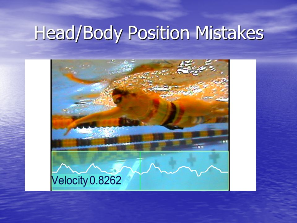 Head/Body Position Mistakes