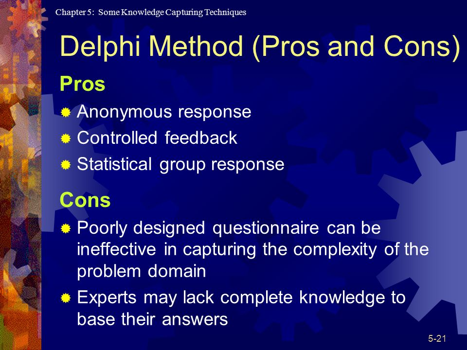 Delphi Method (Pros and Cons)