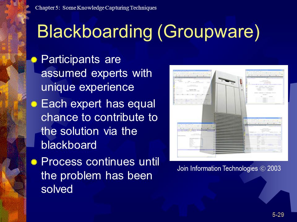 Blackboarding (Groupware)