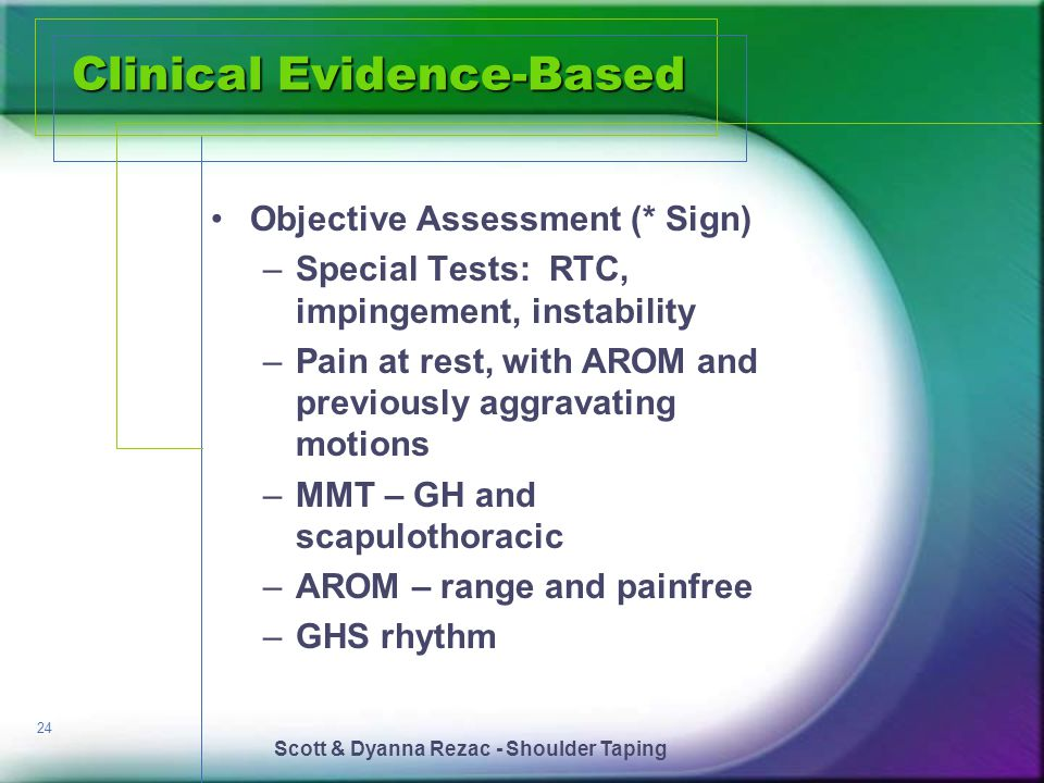 Clinical Evidence-Based