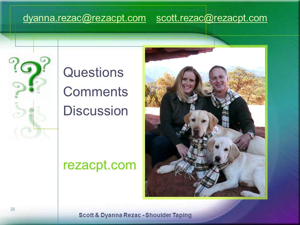 Scott & Dyanna Rezac - Shoulder Taping