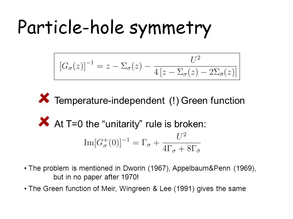 Particle-hole symmetry