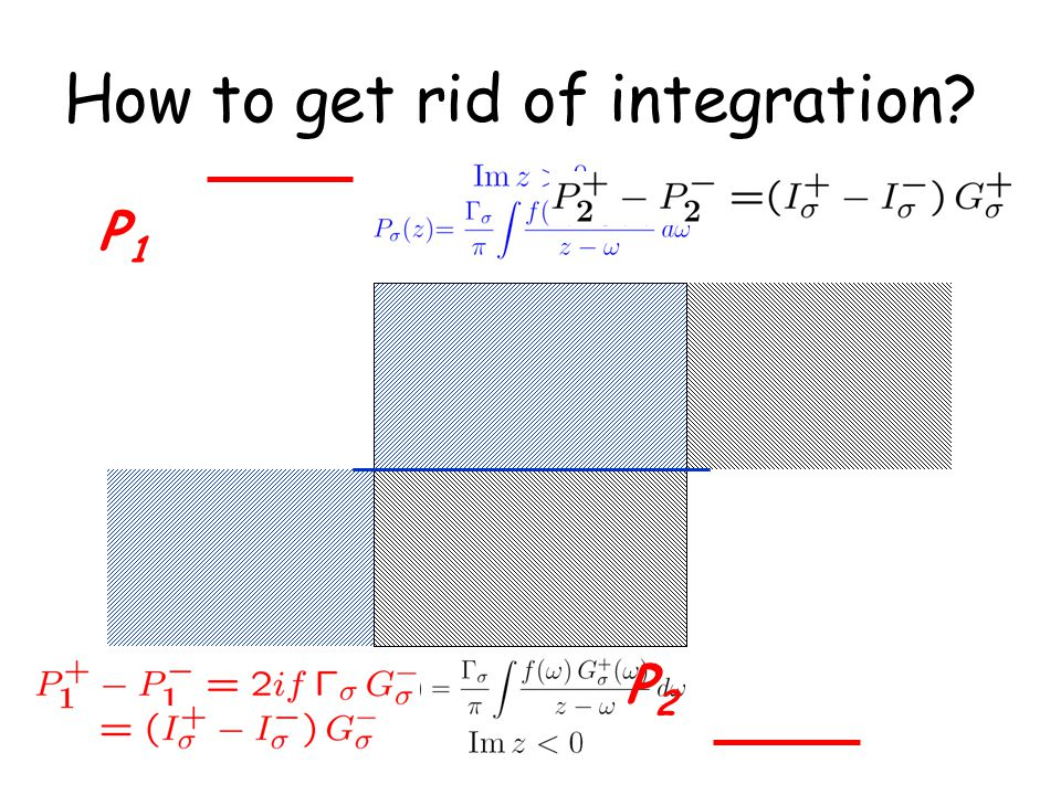 How to get rid of integration