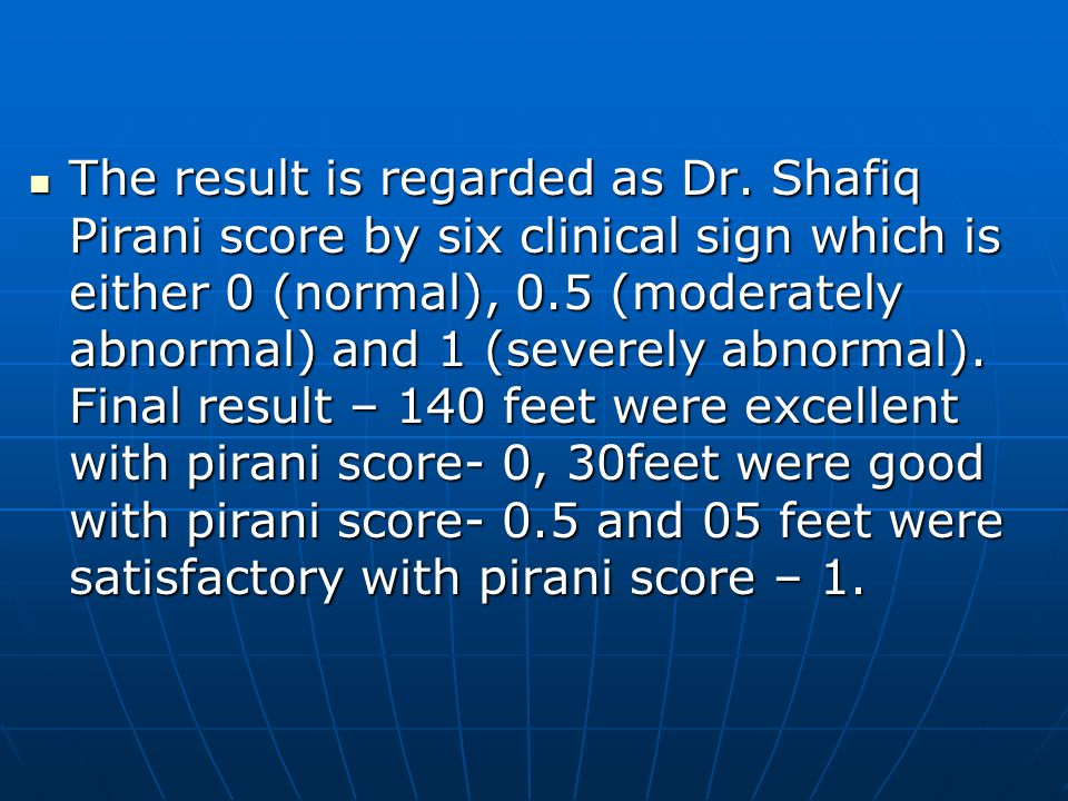 The result is regarded as Dr