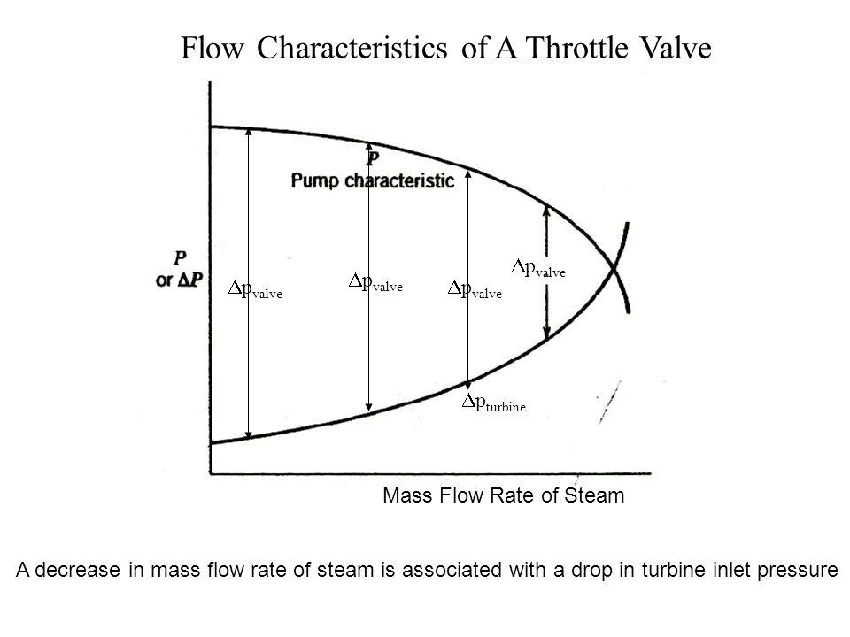 Flow Characteristics of A Throttle Valve