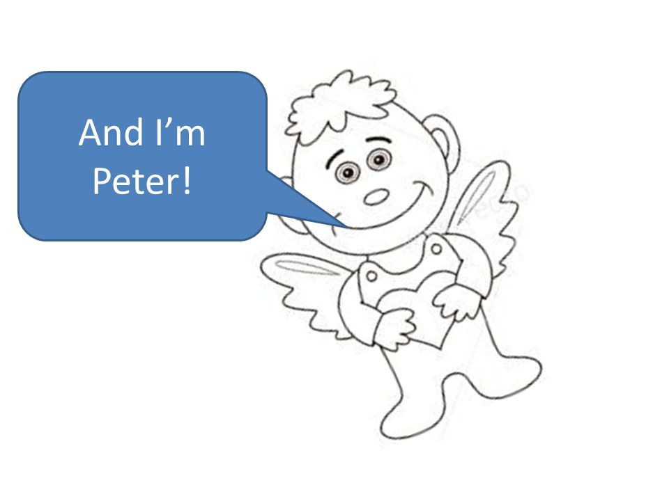 And I'm Peter!